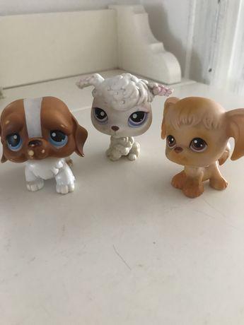 HASBRO Littlest Pet Shop 3 figurki