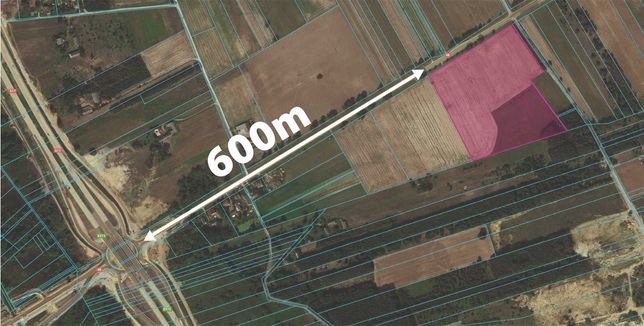 4,5 ha Pole / Teren pod inwestycje