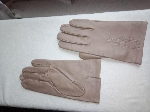 Импортные мужские кожаные перчатки