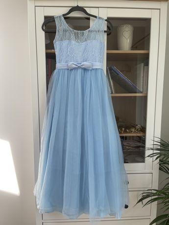 Suknia dla dziewczynki, długa sukienka