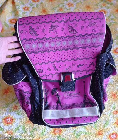Ранец портфель рюкзак каркасный ортопедическая спинка 1-4 класс