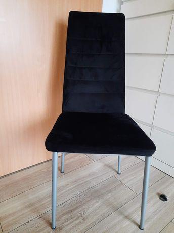 Krzesło zamszowe