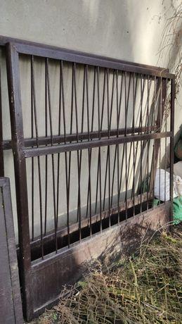 Brama stalowa dwuskrzydłowa 1500x3300