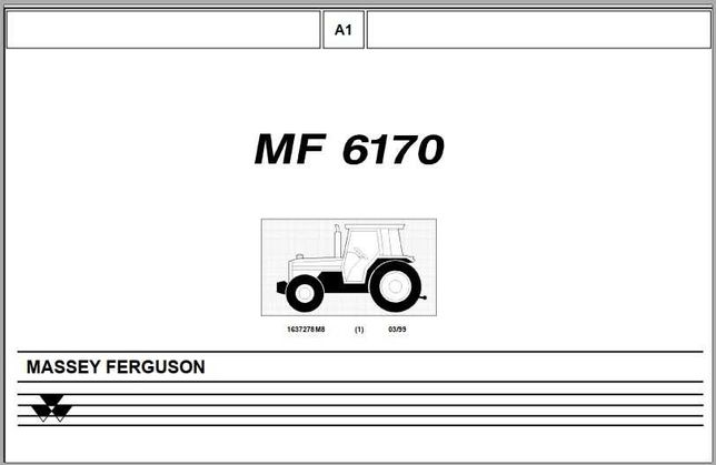 katalog części Massey Ferguson 6260 [ENG]