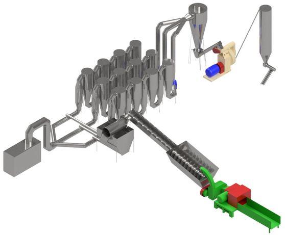 Линия оборудование производства гранулирования пеллет пелет ОГМ 1.5
