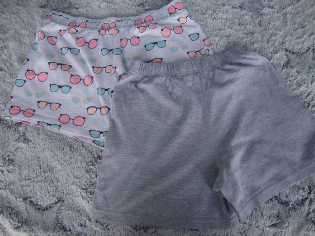 Spodenki krótkie piżama rozmiar 128-134
