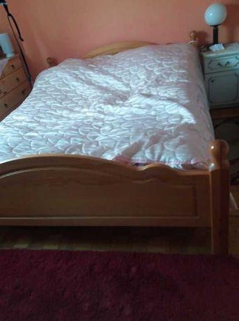 Łóżko drewniane solidne  160x200