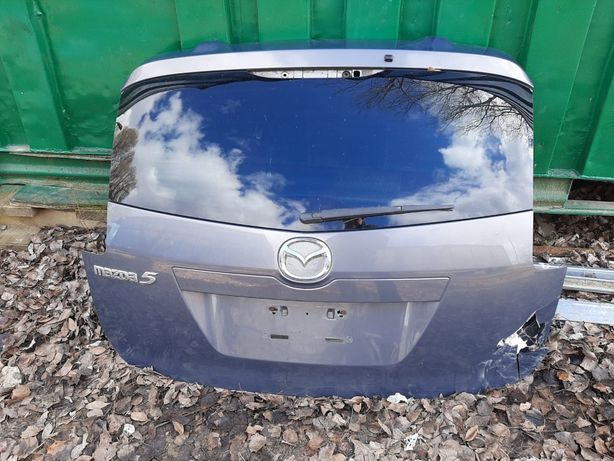 Mazda5 2006r. Tylne drzwi uzbrojone