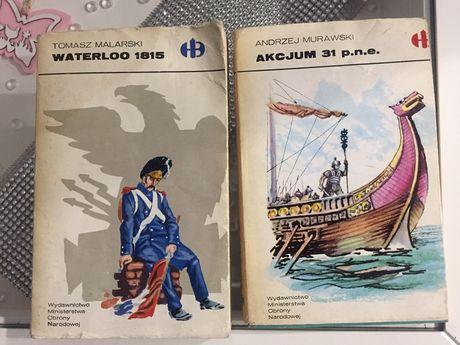 Seria historyczne bitwy Akcjum  i Waterloo