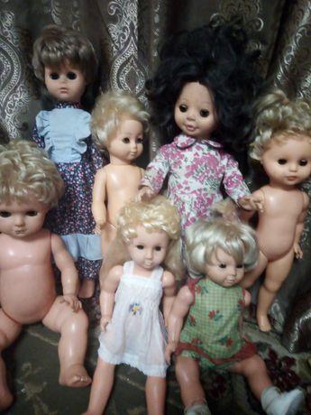 Лотом куклы Гдр из сссср 7шт