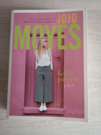 Książka - kolory pawich piór Jojo Moyes