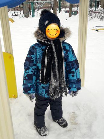 Комбенизон+шапка д/мальчика (зима)