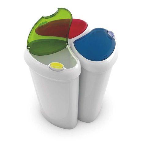 Kis Lotus 3x30L Kosz Śmietnik Segregacja odpadów