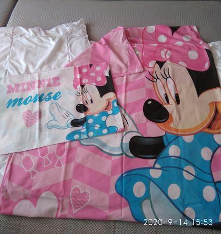 Pościel dziecięca 100/135 , poszewki, Myszka Minnie,księżniczki Disney