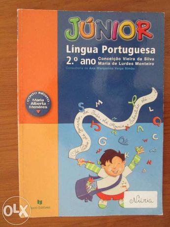 lote de manuais escolares 2º ano português, matemática, estudo do meio