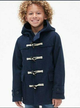 Шерстяное пальто GAP на 12-13 лет