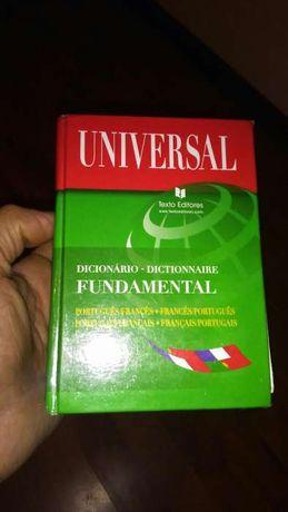 Vendo dicionario portugues-frances