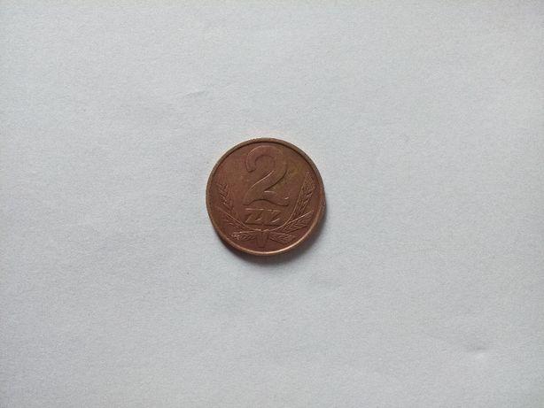 Moneta 2 zł 1987 r.