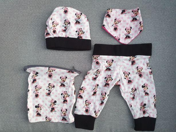 Zestaw ubranek Minnie Mouse New Born noworodek dla dziewczynki