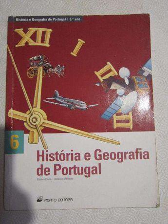 História e Geografia de Portugal 6º Ano - Porto Editora - Fátima Costa