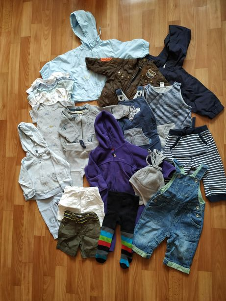 Пакет вещей на мальчика 3-6 месяцев