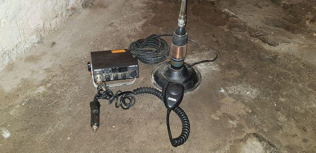 CB radio firmy President Harry 2 wraz z anteną President o dużej mocy