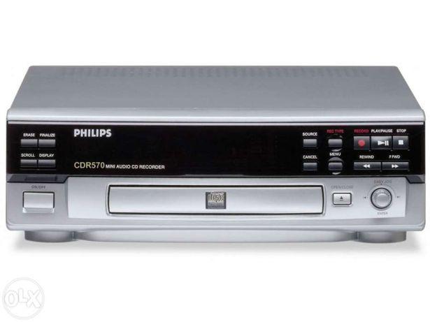 Gravador Philips Cdr 570