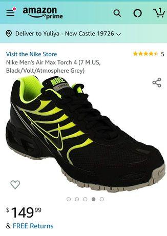 Новые Стильные кроссовки Nike (оригинал),США!Новинка.Цена снижена!