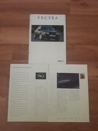 Prospekt katalog OPEL astra, vectra. Język niemiecki