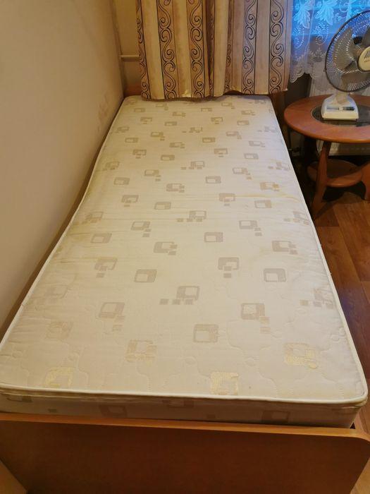 Łóżko 90x200 ze stelażem regulowanym KF + materac 18cm Wałbrzych - image 1