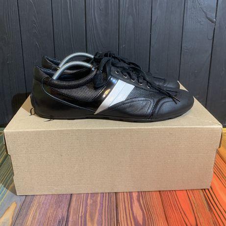 Кожаные кроссовки Bata 43.5 размер Lacoste Tommy Hilfiger Ecco clarks