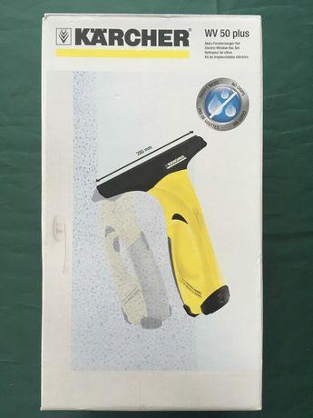 Kit aspirador elétrico limpa vidros Kärcher WV 50 Plus