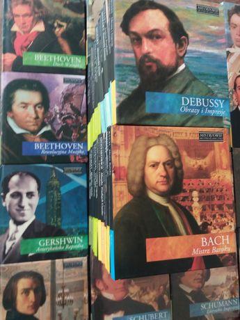 Mistrzowie muzyki klasycznej- 51 płyt CD - Bach, Mozart, Chopin