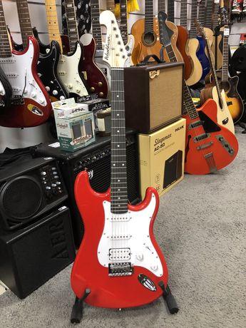 Washburn WS300 gitara elektryczna czerwona oryginalna sklep CMUSIC KRK