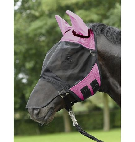 Maska przeciw owadom Busse Fly Cover Pro rozmiar cob i full