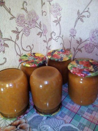 Абрикосово-яблочный джем с апельсином