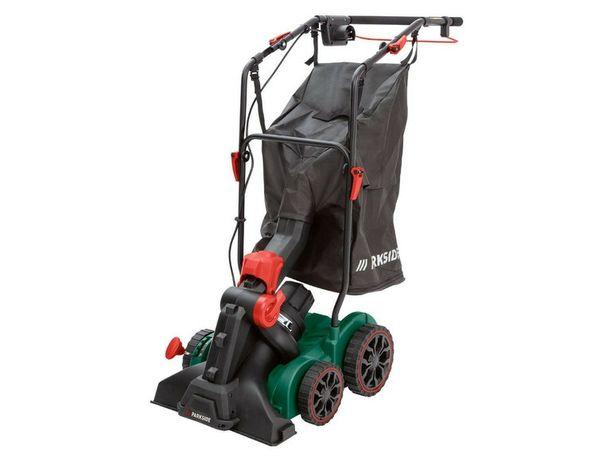 Электрический пылесос воздуходувка для листьев Parkside PLKSB 1800 A1