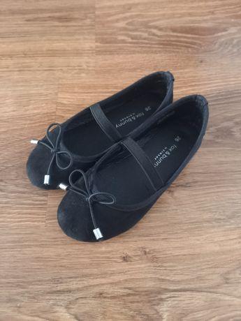 Czarne balerinki rozmiar 26