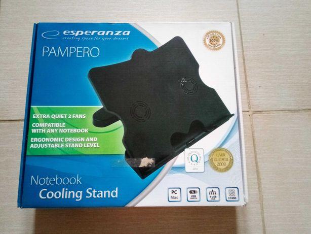 ESPERANZA Podstawka chłodząca pod laptopa Pampero EA103 4 x hub