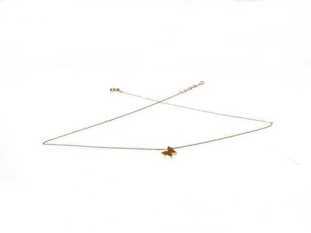 Złoty łancuszek Z ZAWIESZKĄ 585 1,77G 45 CM