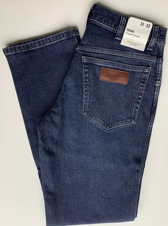Spodnie Wrangler Texas Oryginal Straight w121 hn34k 31/32