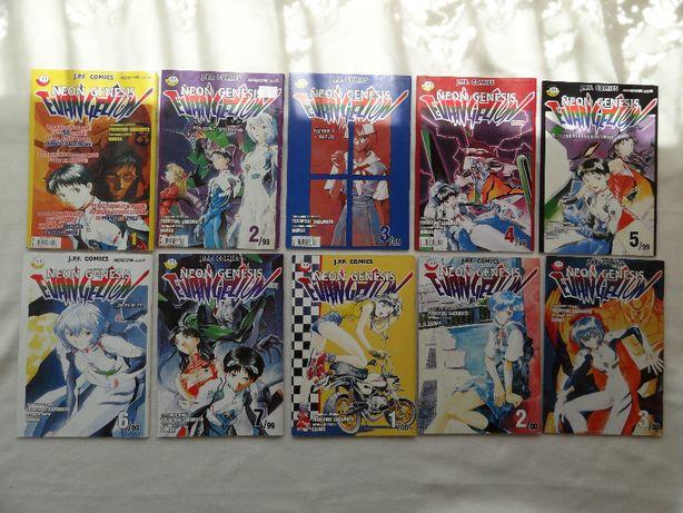 Manga Neon Genesis Evangelion - kompletna kolekcja (23 zeszyty)
