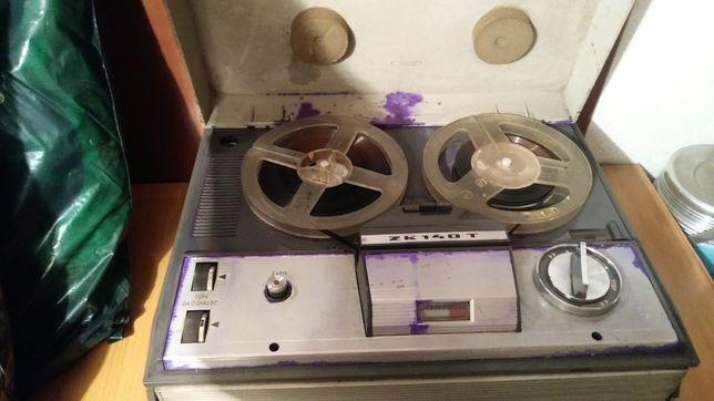 Magnetofon szpulowy Unitra ZK 140 T