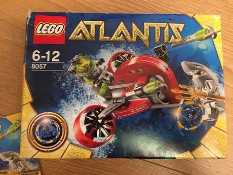 Lego atlantis 8057 plus 2 gazetki atlantis gratis