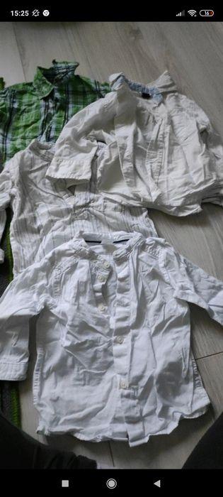 Zestaw koszul chlopiecych 74 Lesznowola - image 1