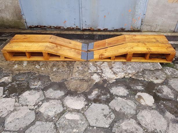 Najazd Podjazd Samochodowy Rampa Mocny Drewniany