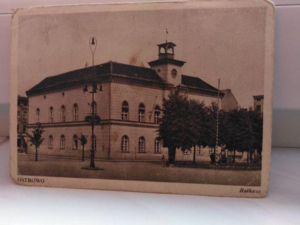 pocztowka Ostrowa z roku 1942