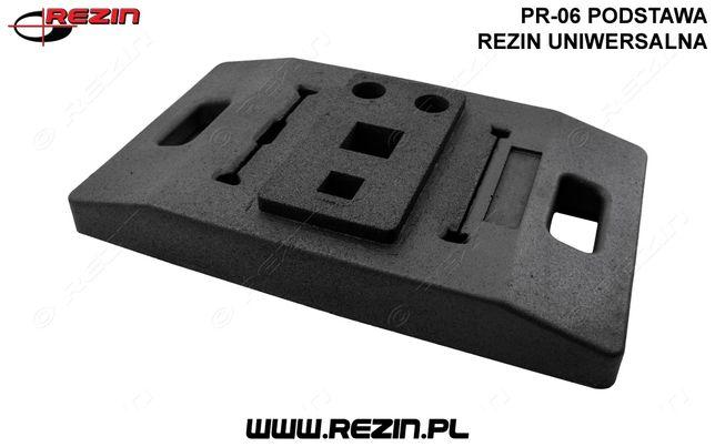 PR-06 podstawa REZIN uniwersalna / podstawa pod znak drogowy POLSKA