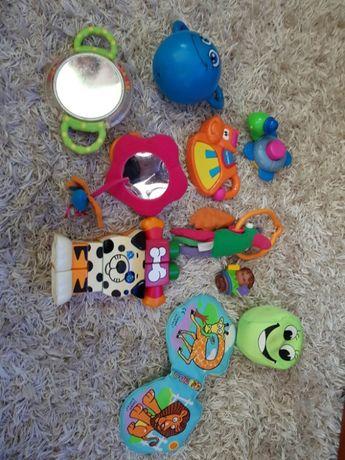 Grzechotki i inne zabawki