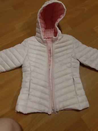 Różowa kurtka dziewczęca